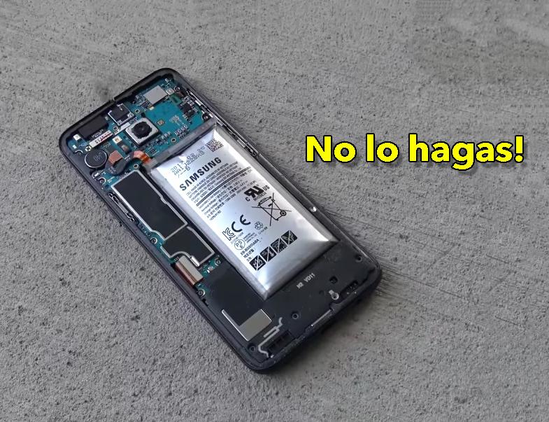 ¿Qué pasa si agotas la batería del móvil por debajo del 5%?