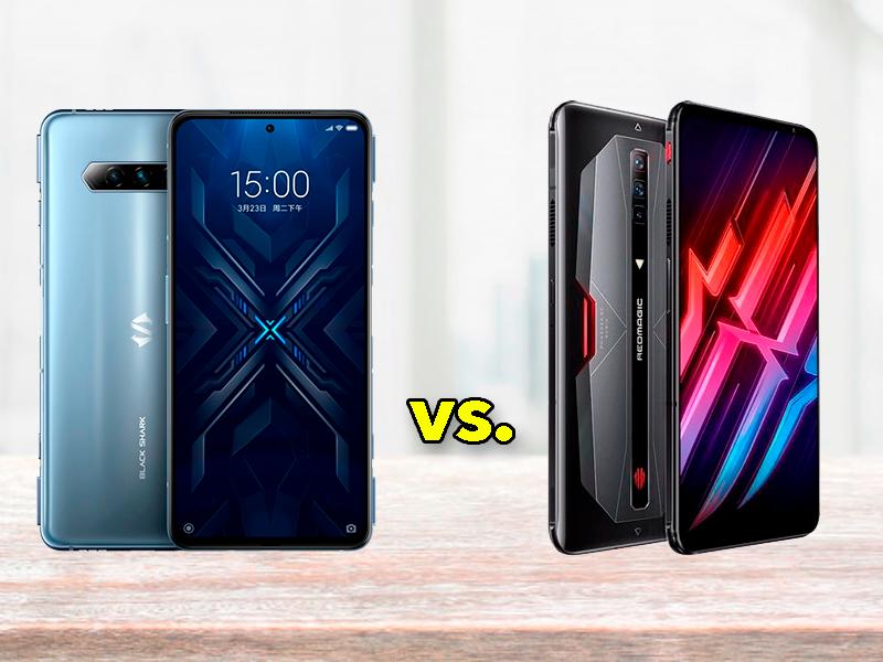 Xiaomi Black Shark 4 Pro vs Red Magic 6 Pro, ¿cuál deberías comprar?