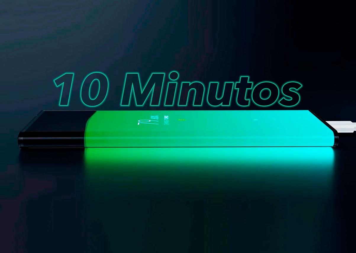 Cargar el móvil en unos 10 minutos del 0 al 100% ya es posible: así es la carga más rápida de 120W