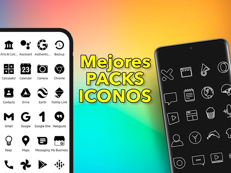 Los mejores packs de iconos para cambiar el aspecto de tu móvil