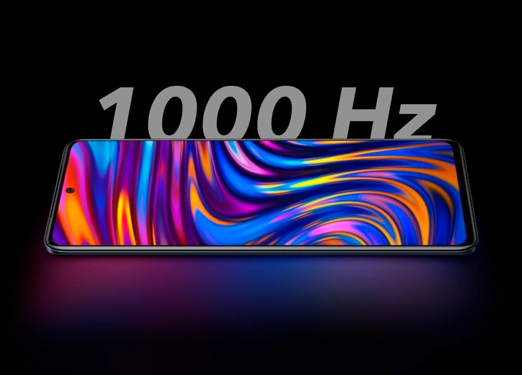 El primer móvil con tasa de refresco de 1000 Hz, ¿para qué sirven tantos Hz?