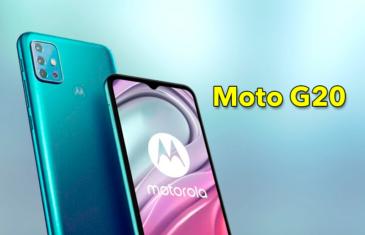 Nuevo Motorola Moto G20, ¿el gama media menos recomendable?