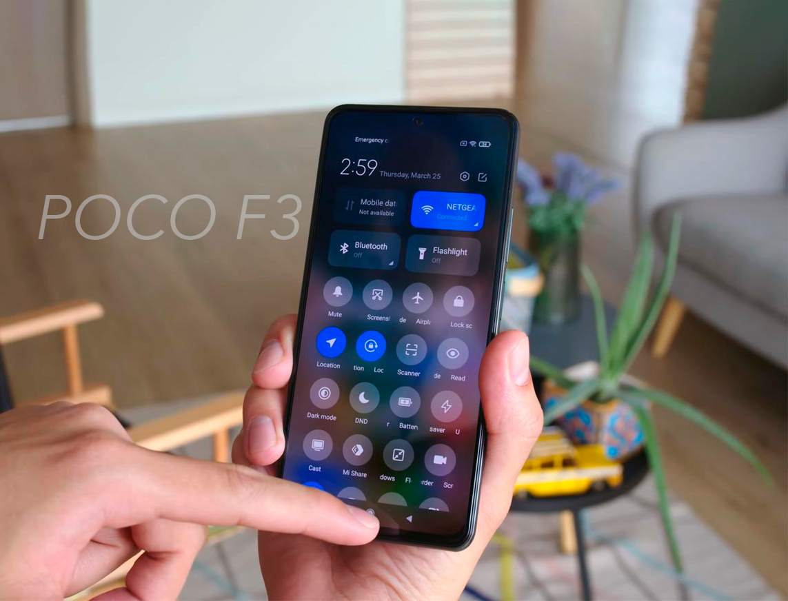 Problemas del POCO F3: su pantalla no es todo lo buena que se esperaba