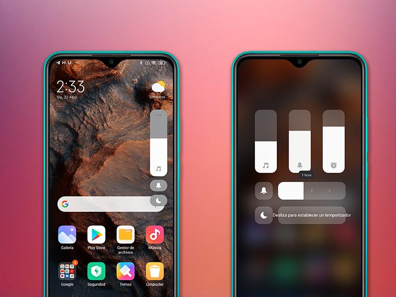 Instala en tu móvil Xiaomi el nuevo control de volumen: más inteligente y funcional