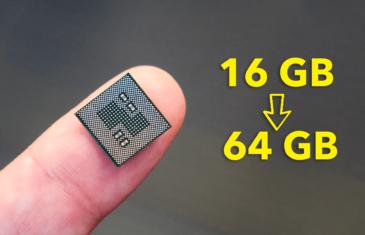 Este usuario le cambió el chip de memoria a su móvil: de 16 a 64 GB