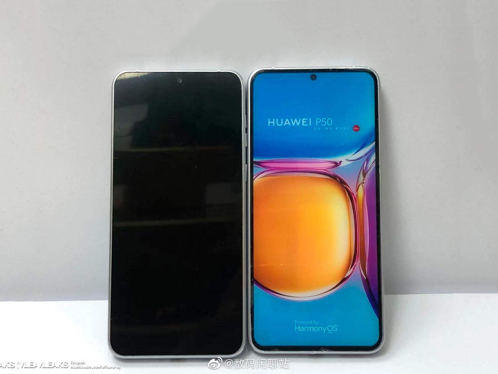 Este es el Huawei P50: pantalla plana, cámara gigante y biseles muy finos