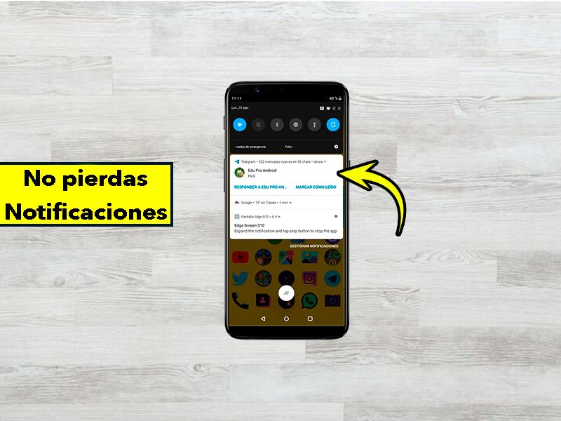Instala esta aplicación en tu móvil para no perderte ninguna notificación