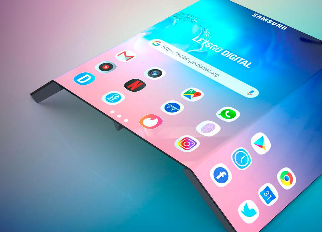 Este móvil de Samsung tiene tres pantallas y un S-Pen magnético
