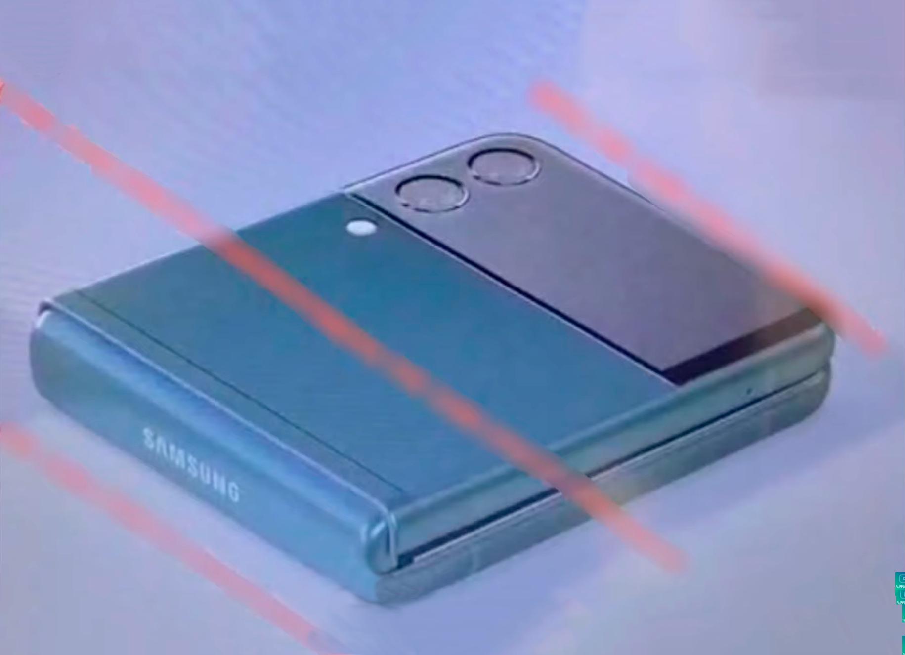 Filtrado el próximo Samsung Galaxy Z Flip 3: bordes planos y pantalla exterior más grande