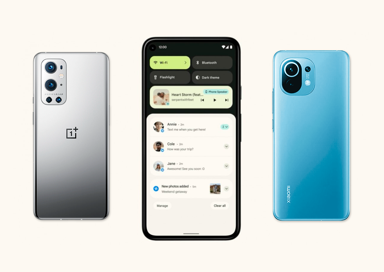 Estos móviles ya pueden actualizar a Android 12 Beta y no son Pixel: Xiaomi, OnePlus, Oppo…