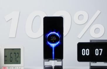 Xiaomi rompre los récords: carga completa del 0 al 100% en solo 8 minutos