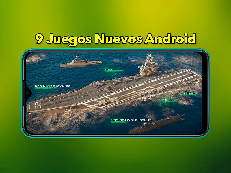 9 Juegos Android Nuevos que deberías descargar ahora mismo