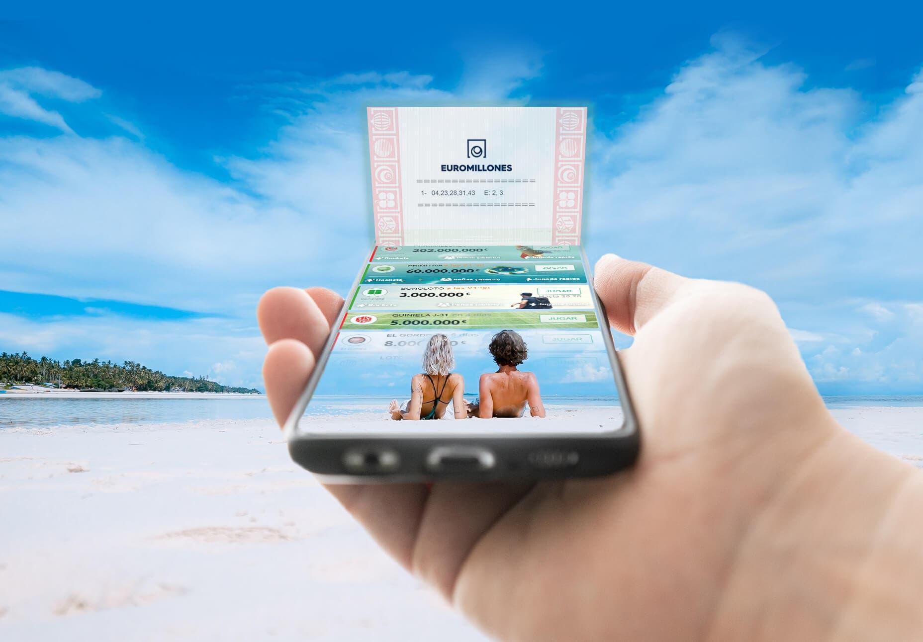 TuLotero, la mejor opción para jugar La Primitiva o Euromillones desde el móvil