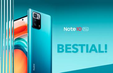 Nuevo Xiaomi Redmi Note 10 Pro 5G, un gama media con procesador y pantalla de gama alta