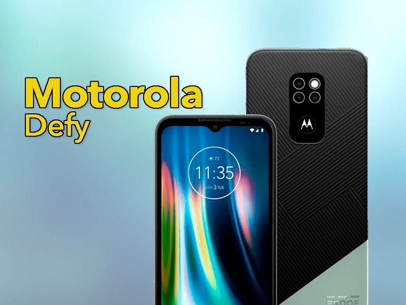 Motorola Defy 2021, el móvil Motorola más extraño del año