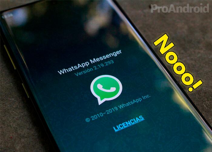 WhatsApp acaba de eliminar una función esencial para todos los usuarios
