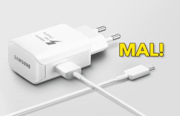 Cuidado con los cargadores de Samsung: carga rápida de 25W, pero cargador de 15W