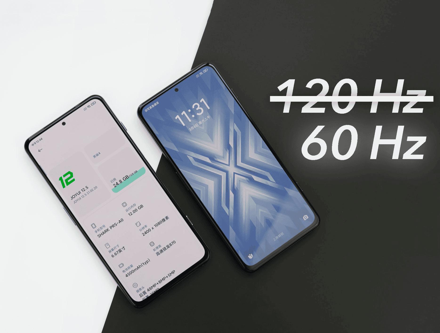 Tu Xiaomi no siempre va a 120 Hz, incluso cuando los fuerzas se utilizan los 60 Hz