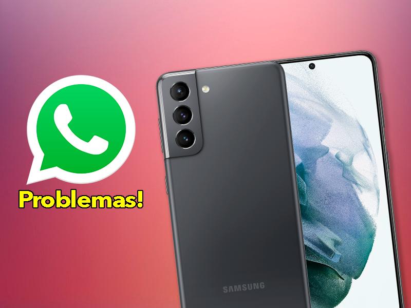 El problema de los móviles Samsung con WhatsApp se solucionará pronto