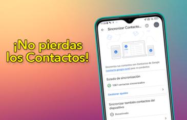 Qué hacer para no peder los contactos del móvil nunca más