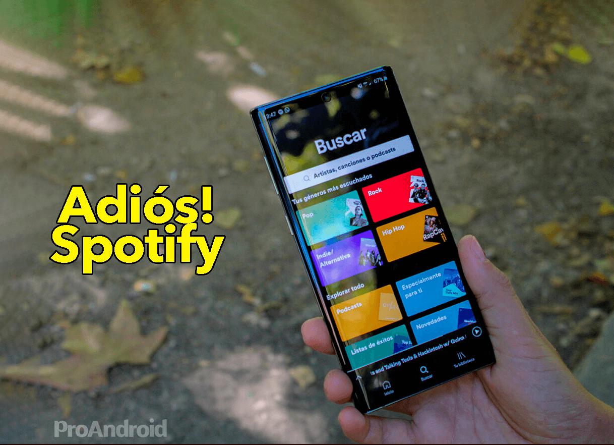 Borra Spotify de tu móvil e instala esta versión mejorada y gratis