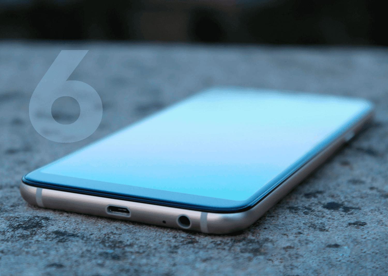 6 errores que cometes con tu smartphone diariamente y que pueden acortar su vida