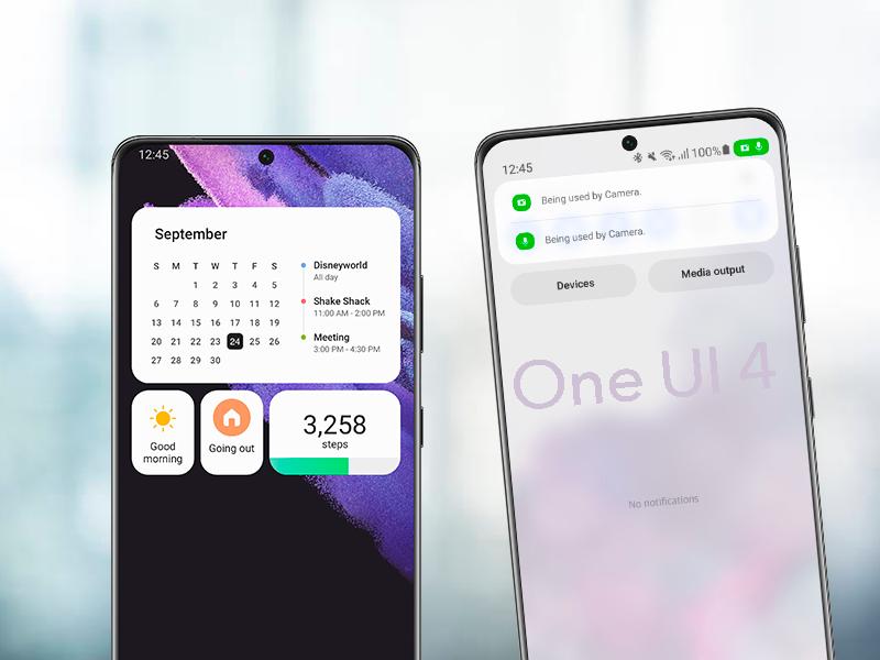 Ya se puede instalar One UI 4.0 y Android 12 en móviles Samsung