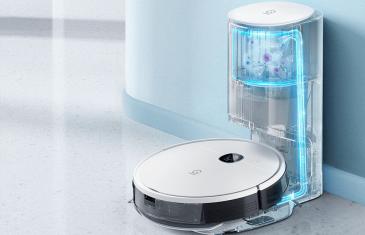 El mejor robot aspirador-fregona con base de vaciado calidad/precio, a precio de derribo