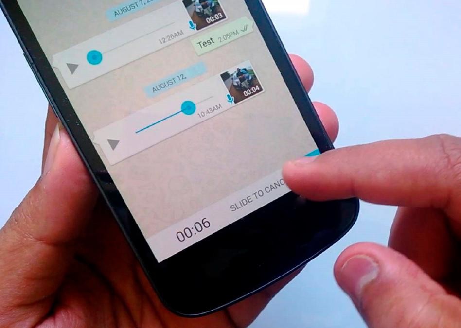 Los audios de WhatsApp muy largos ahora serán más llevaderos: podrás salir de la conversación